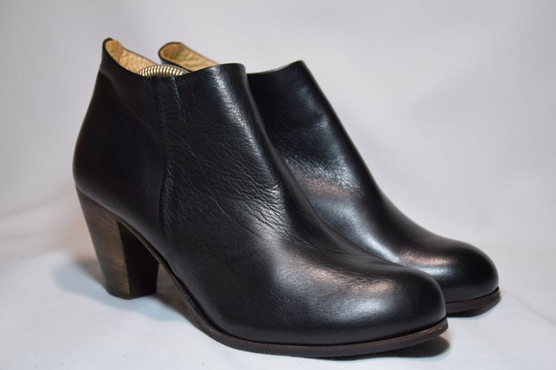 Ботинки ботильоны gidigio женские кожаные. италия. оригинал. 3... - Фото 2