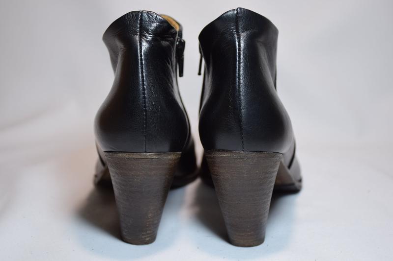 Ботинки ботильоны gidigio женские кожаные. италия. оригинал. 3... - Фото 4