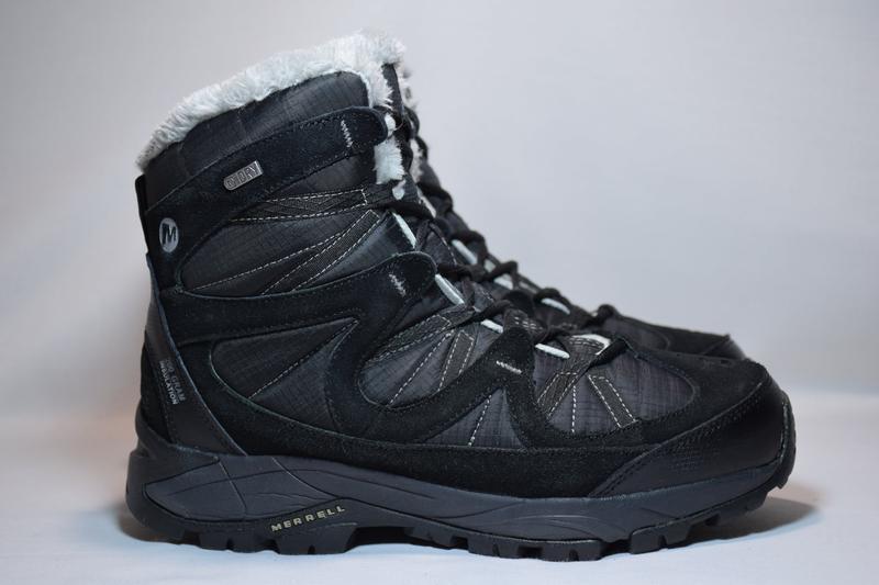 Термоботинки merrell winter primaloft insulation ботинки женск...