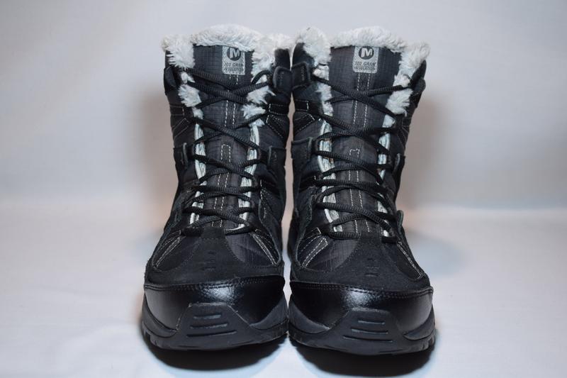 Термоботинки merrell winter primaloft insulation ботинки женск... - Фото 3