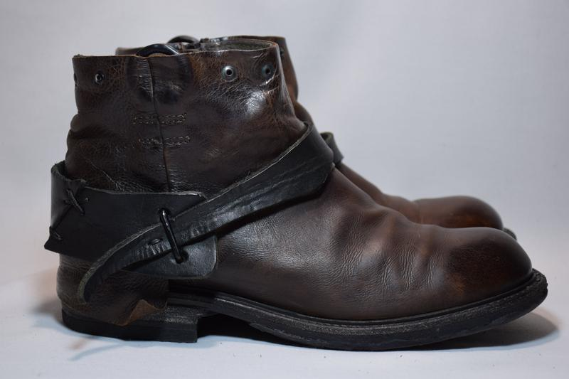 Ботинки a.s. 98 airstep ботильоны сапоги женские кожаные итали...