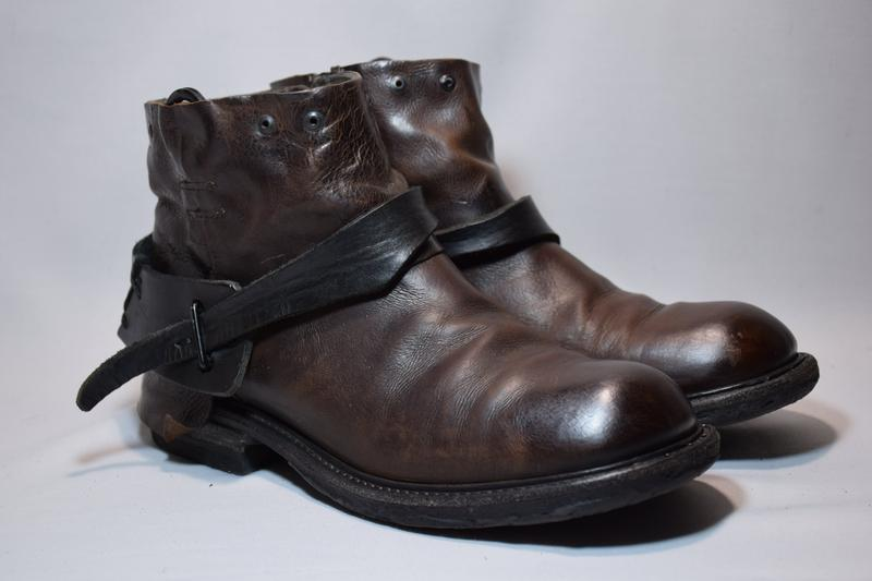 Ботинки a.s. 98 airstep ботильоны сапоги женские кожаные итали... - Фото 2