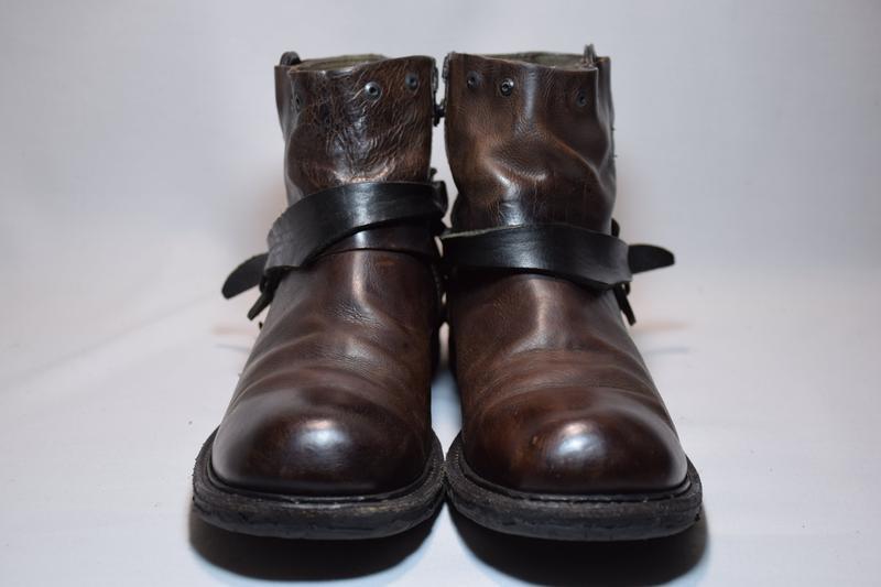 Ботинки a.s. 98 airstep ботильоны сапоги женские кожаные итали... - Фото 3