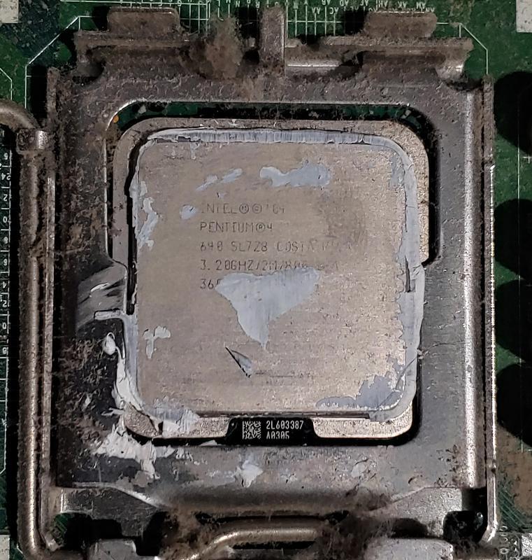 Процессор сокет 775 Intel Pentium 4 640 3.20GHz 2M 800