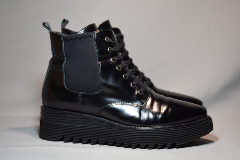 Ботинки ботильоны laura bellariva женские кожаные. италия. ори...