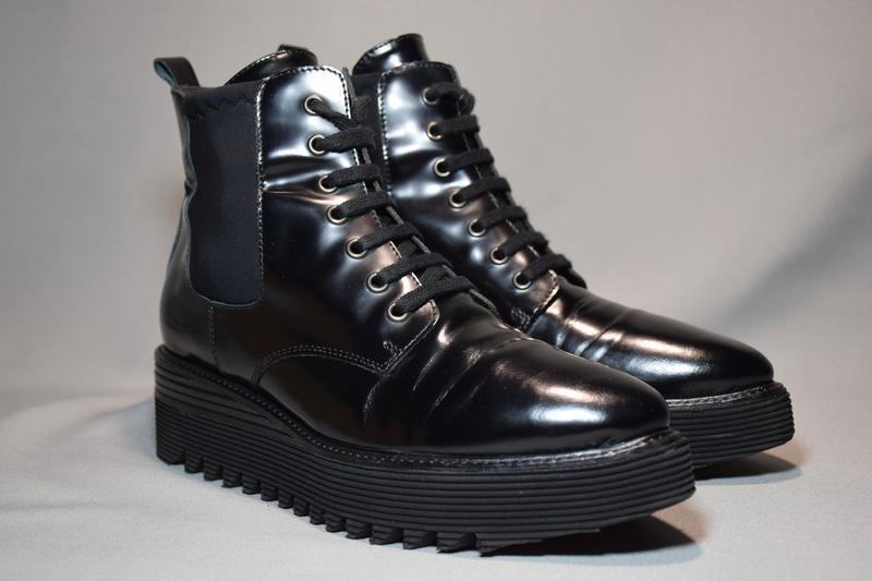 Ботинки ботильоны laura bellariva женские кожаные. италия. ори... - Фото 2