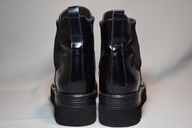 Ботинки ботильоны laura bellariva женские кожаные. италия. ори... - Фото 4