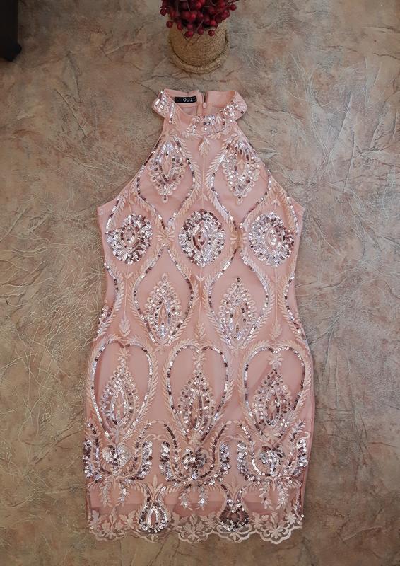 Нарядное платье вечернее, праздничное, выпускное в пайетки от ... - Фото 4