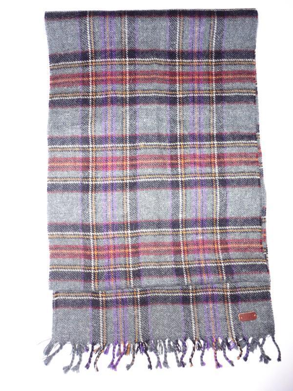 Шерстяной шарф шерсть 100% fat&face 180х31см