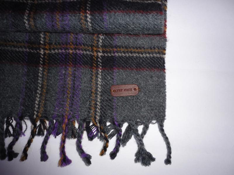 Шерстяной шарф шерсть 100% fat&face 180х31см - Фото 2