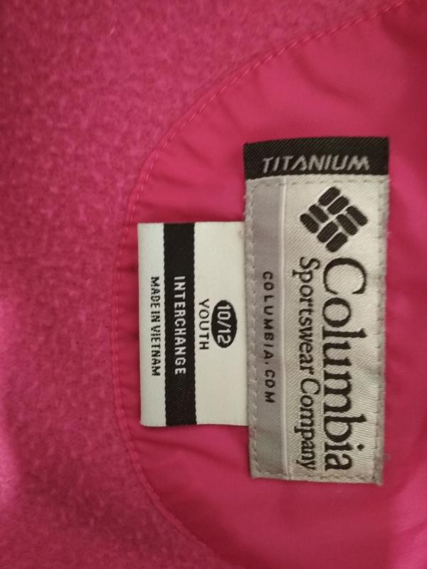 Куртка columbia titanium omnitech 3в1 р. 10-12лет - Фото 4
