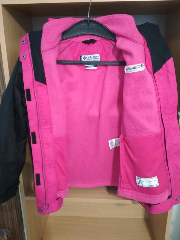 Куртка columbia titanium omnitech 3в1 р. 10-12лет - Фото 5