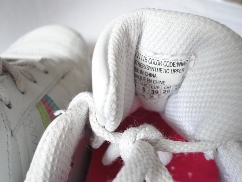 Белые кожаные кроссовки skechers р.39 (стелька 25,5) - Фото 5