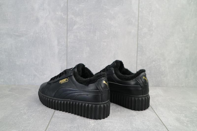 Женские ботинки кожаные зимние черные nev-men p14 - Фото 7