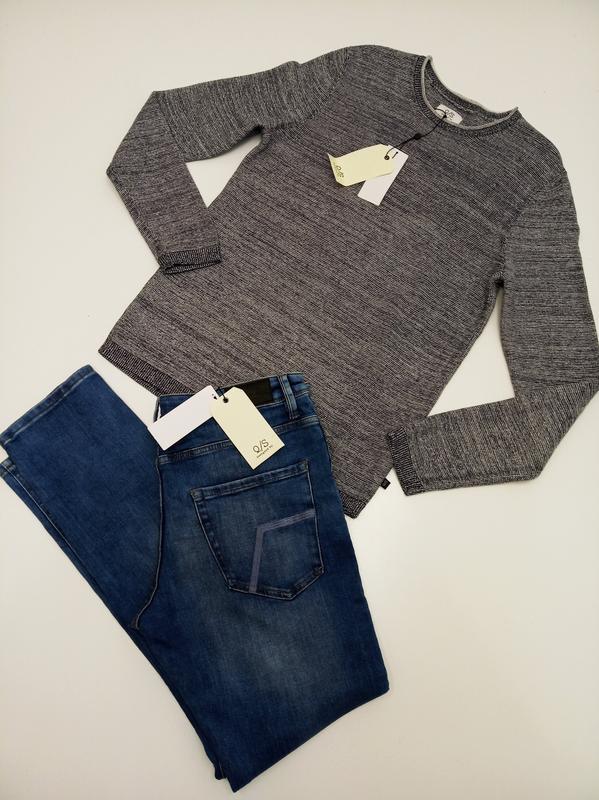 Мужской пуловер из хлопка s.oliver