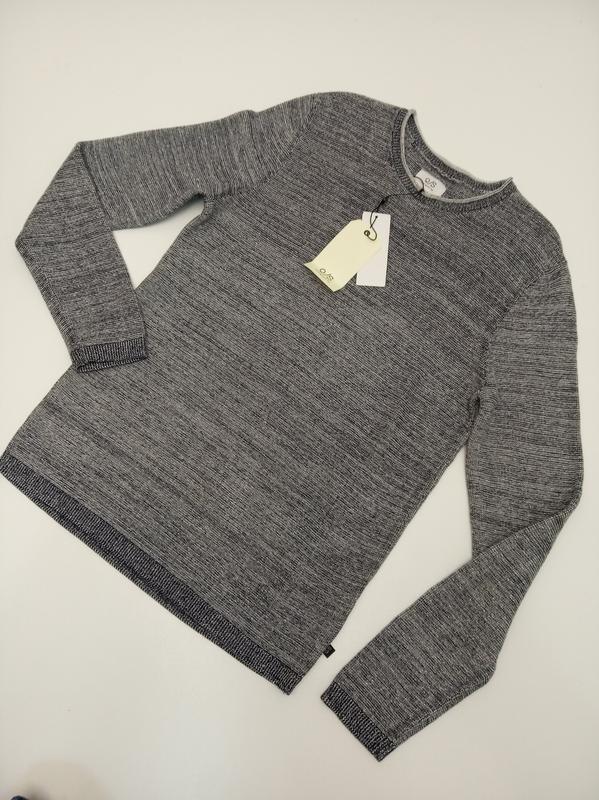 Мужской пуловер из хлопка s.oliver - Фото 2