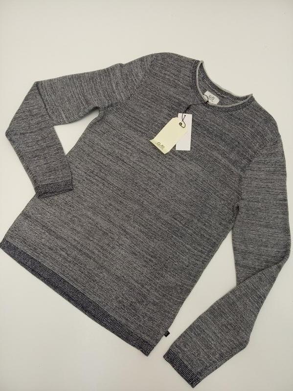 Мужской пуловер из хлопка s.oliver - Фото 3
