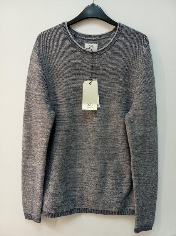 Мужской пуловер из хлопка s.oliver - Фото 7