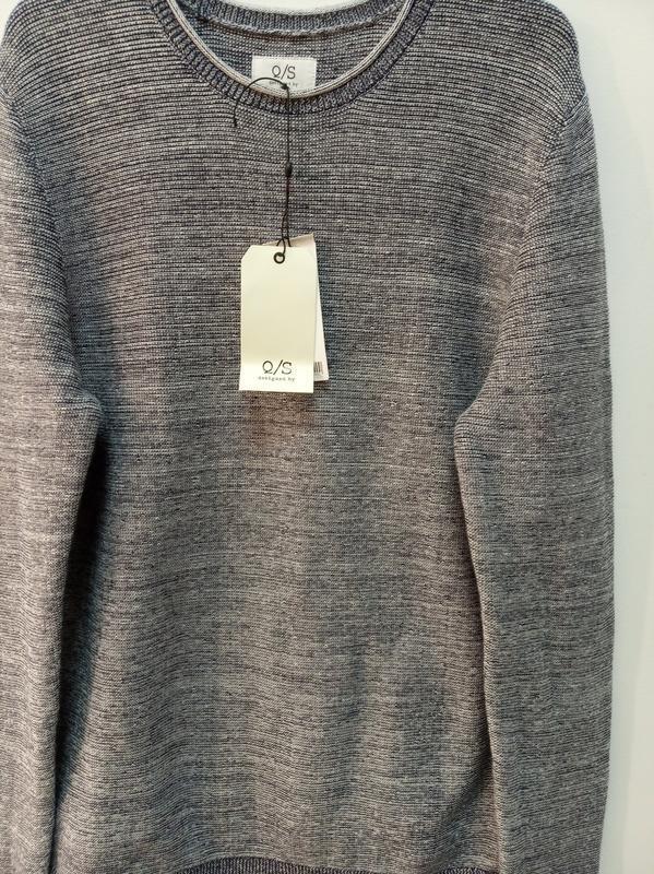 Мужской пуловер из хлопка s.oliver - Фото 9