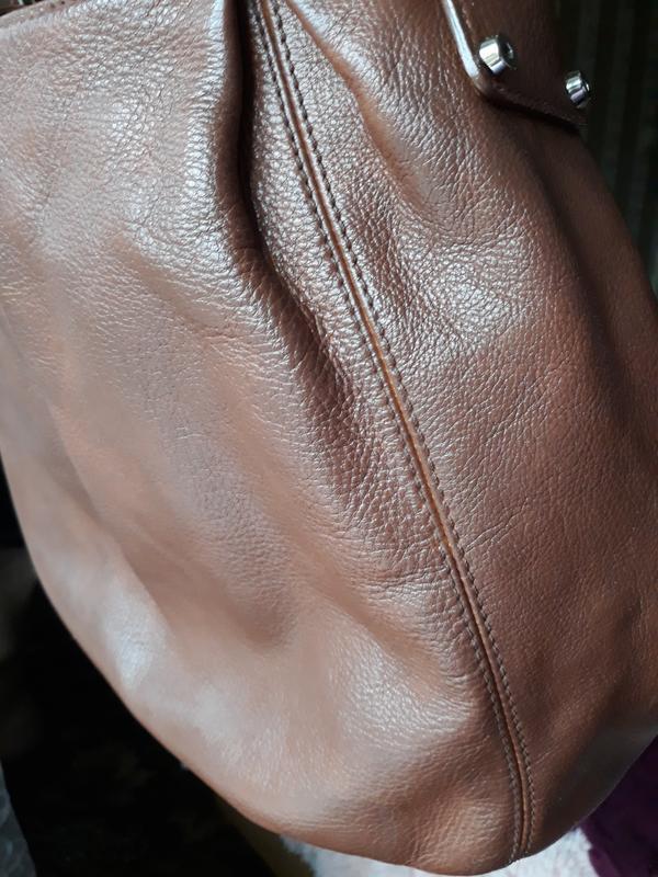 Кожаная сумка coccinelle. - Фото 10
