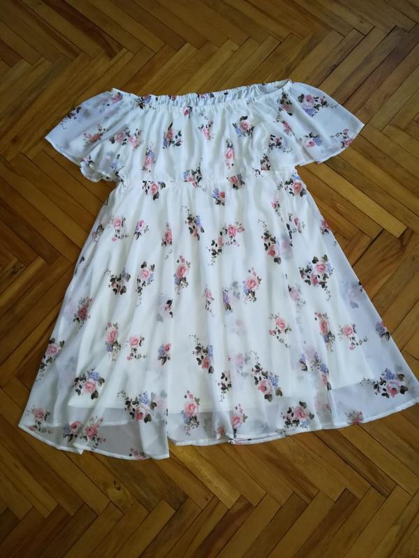 Летнее платье в цветочный принт - Фото 2