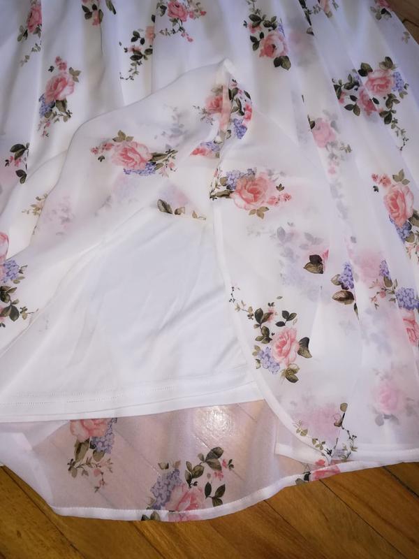 Летнее платье в цветочный принт - Фото 5