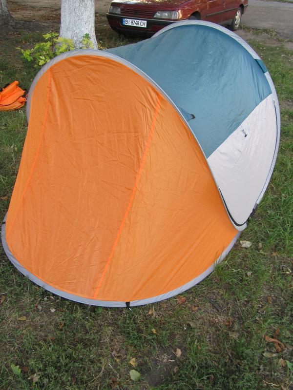Палатка автомат летняя туристическая трехместная 190х235х100 см