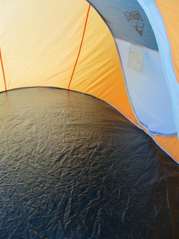 Палатка автомат летняя туристическая трехместная 190х235х100 см - Фото 3