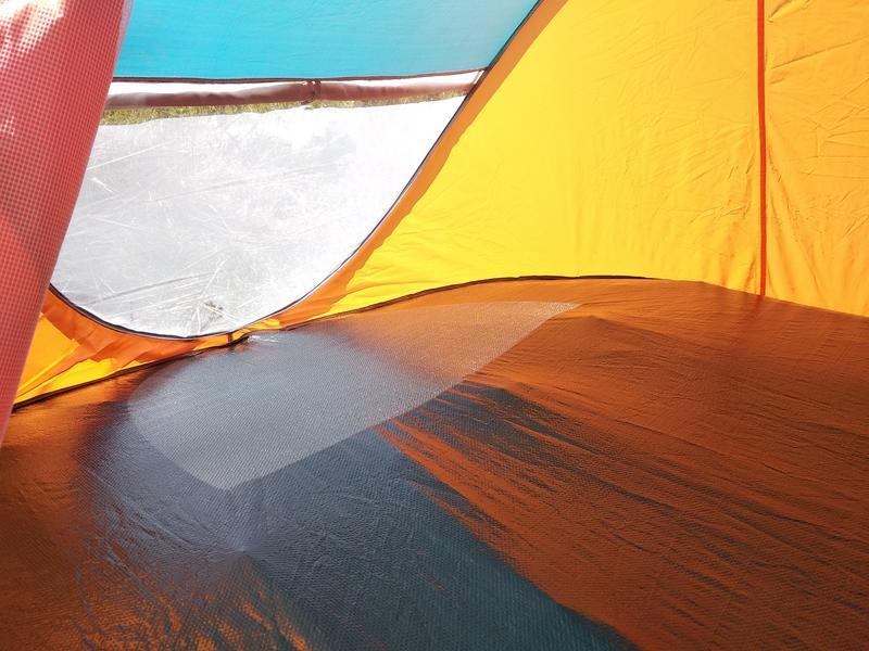 Палатка автомат летняя туристическая четырехместная 210х240х100см - Фото 4