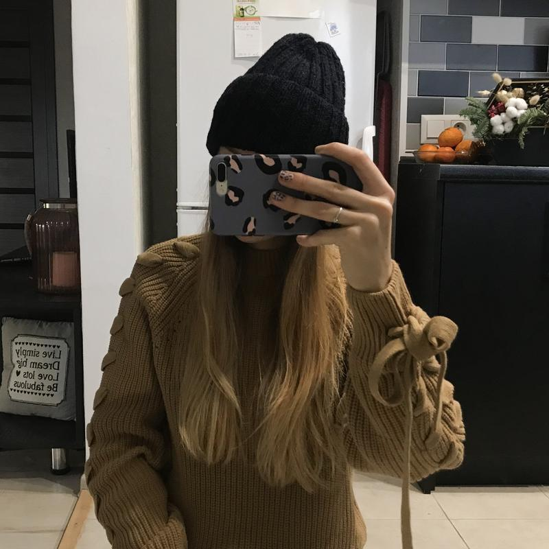 Объёмная шерстяная шапка - Фото 2