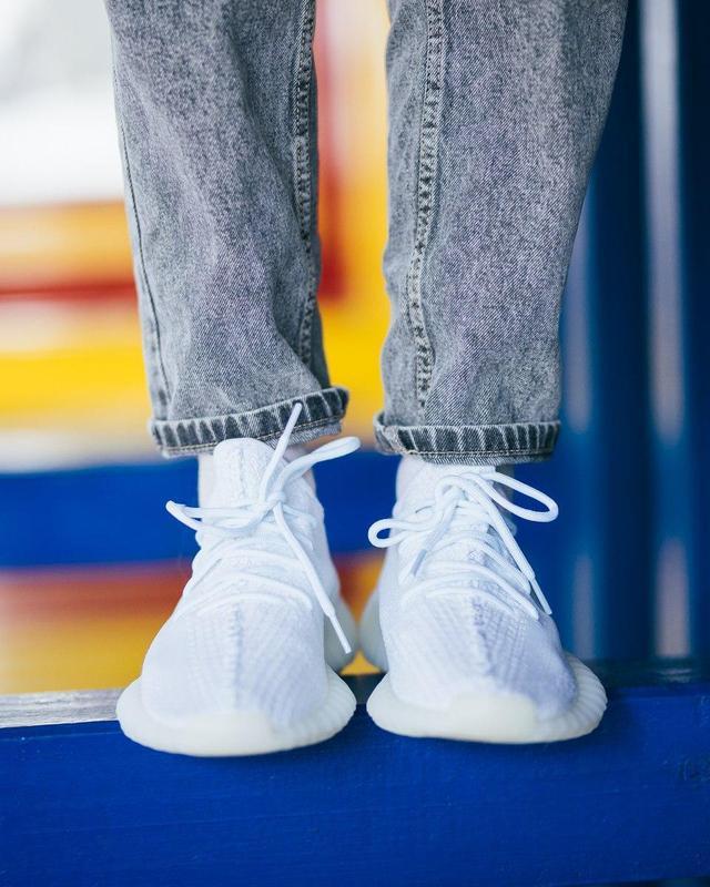 Шикарные женские кроссовки adidas yeezy boost white 😍 (весна/ ... - Фото 5