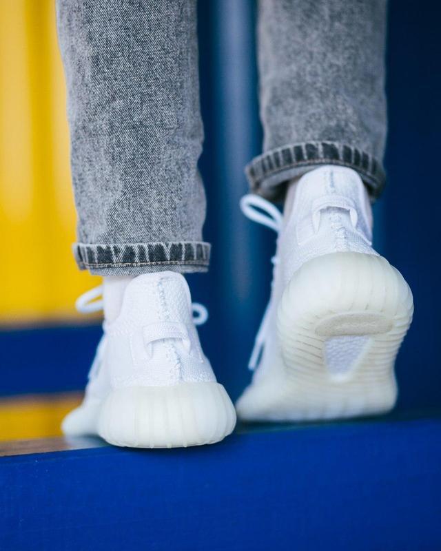 Шикарные женские кроссовки adidas yeezy boost white 😍 (весна/ ... - Фото 6