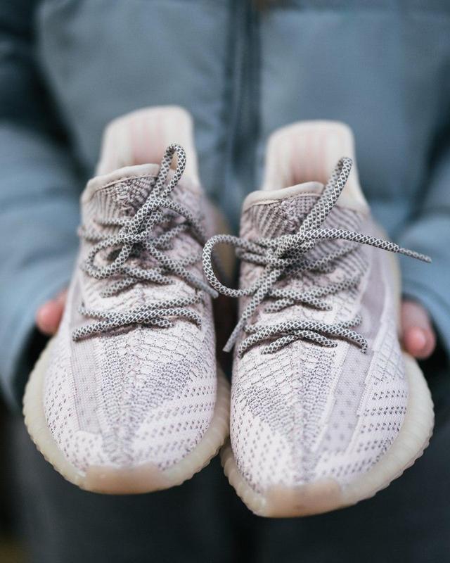Шикарные женские кроссовки adidas x yeezy boost 350 v2 😍 (весн... - Фото 3