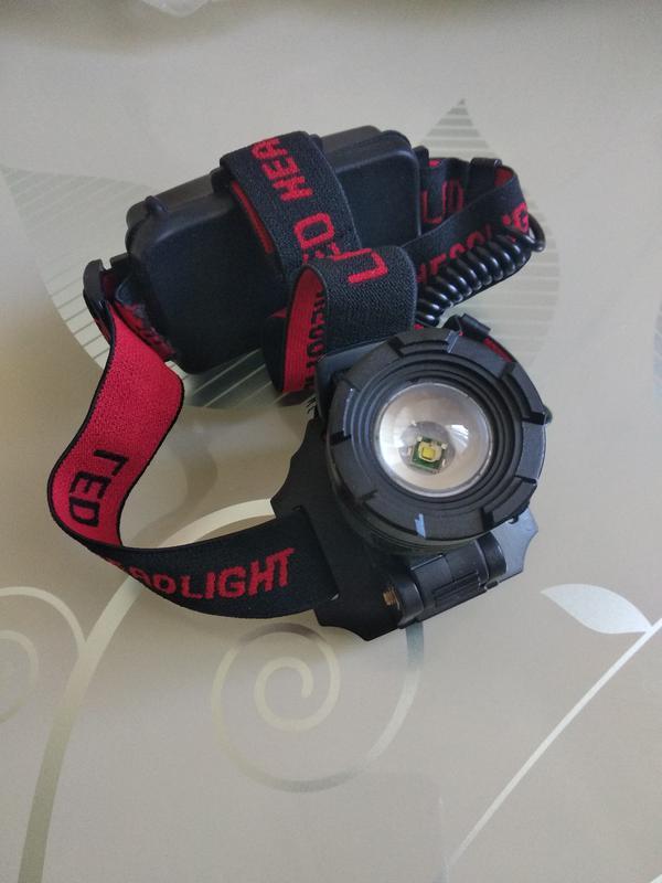 Налобный фонарик Police Bailong Bl-2188 T6 велофонарик