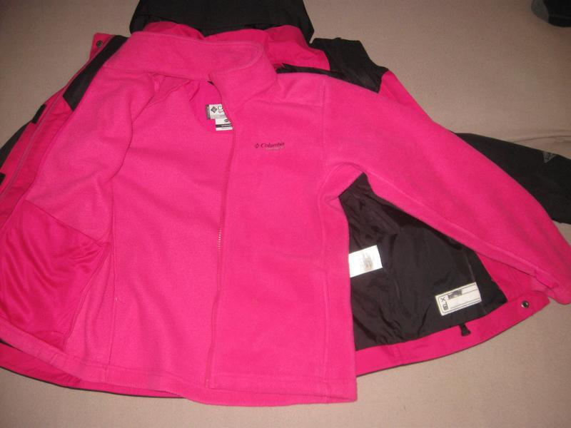 Куртка columbia titanium omnitech 3в1 р. 10-12лет - Фото 6