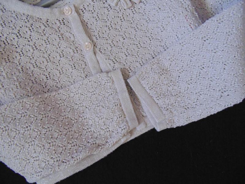 3-4года.нарядное болеро с мерцанием matalan - Фото 5