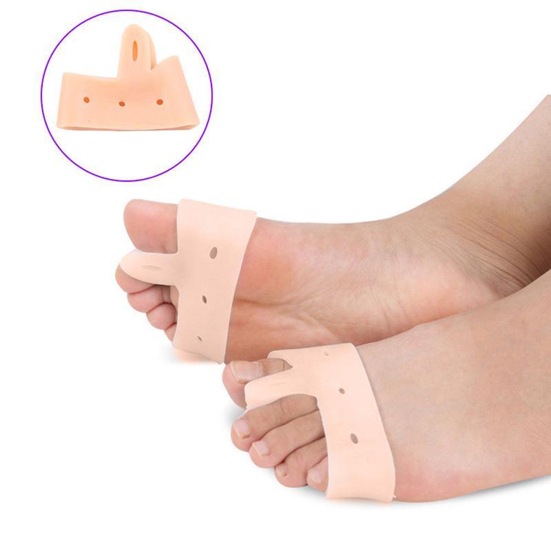 Фиксатор корректор большого пальца ноги с повязкой беж - Фото 4