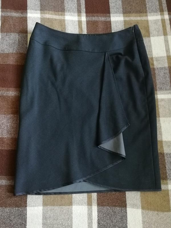 Юбка дорогого американского бренда minuet, бленд с вискозой