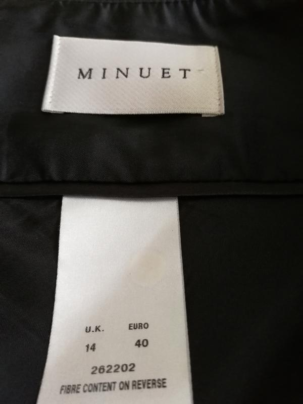 Юбка дорогого американского бренда minuet, бленд с вискозой - Фото 2