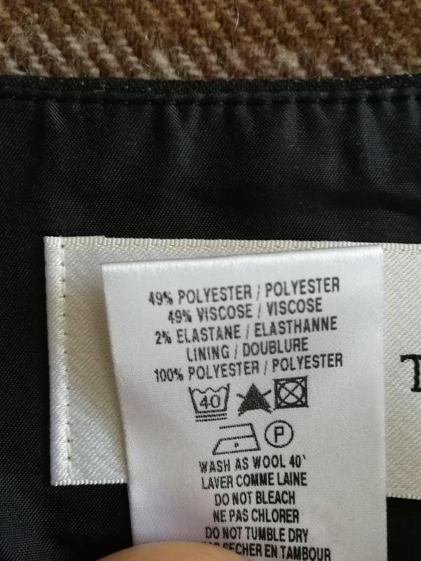 Юбка дорогого американского бренда minuet, бленд с вискозой - Фото 3