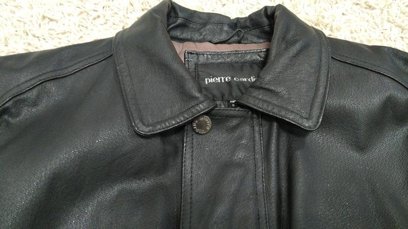 Куртка мужская кожаная утепленная - Фото 3