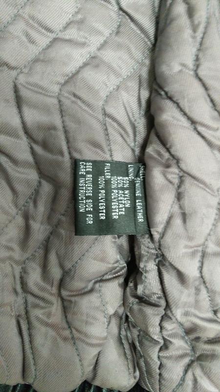 Куртка мужская кожаная утепленная - Фото 8