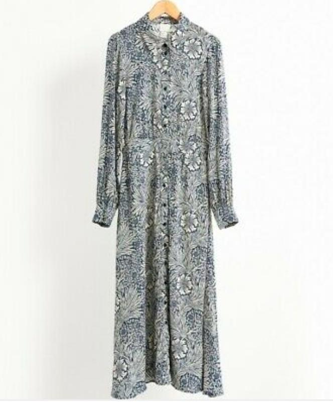Стильное платье рубашка morris&co×h&m - Фото 4