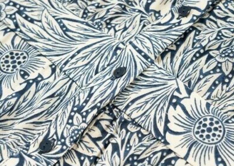 Стильное платье рубашка morris&co×h&m - Фото 5