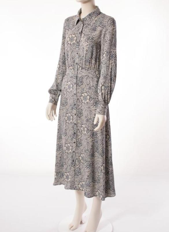 Стильное платье рубашка morris&co×h&m - Фото 7