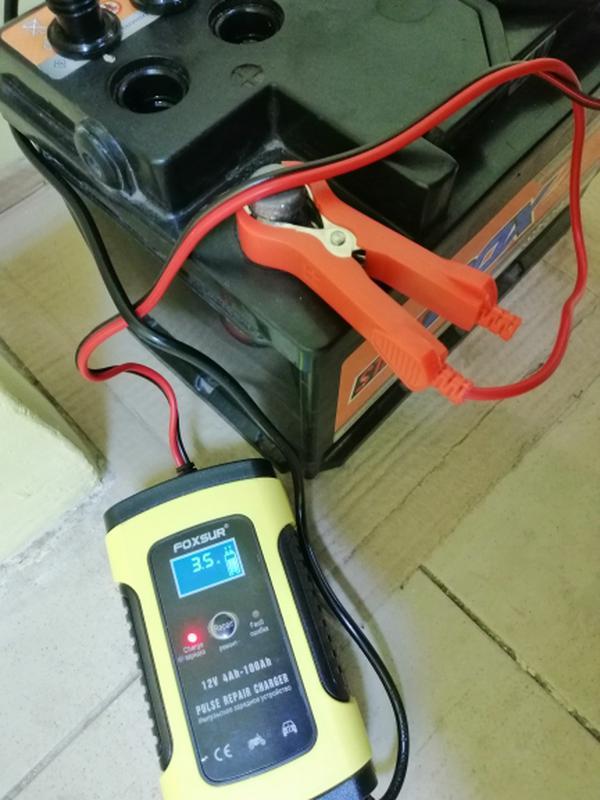Зарядное устройство для аккумулятора вашего авто Foxsur 12V 5-6A - Фото 3