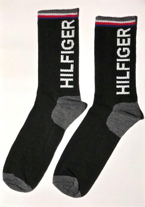 """Носки высокие мужские демисезонные, """"tommy hilfiger"""""""