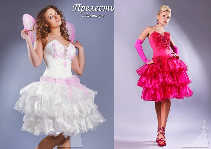 """Короткое вечернее платье """"Прелесть"""""""