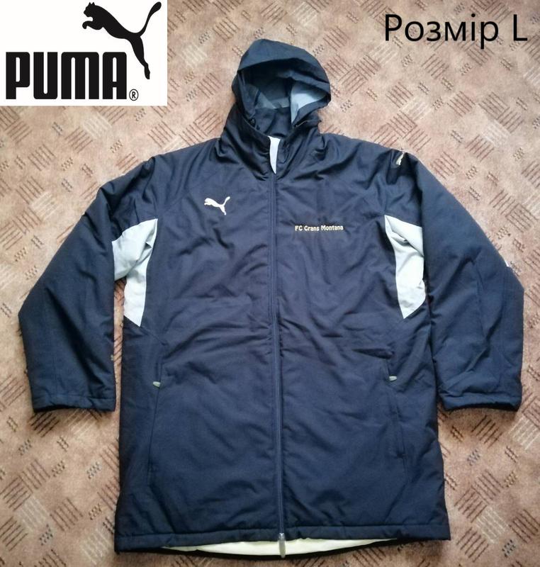 Чоловіча зимова куртка puma. оригінал.!! нові.!!
