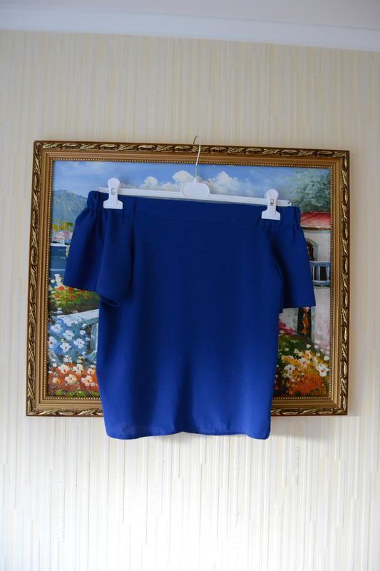 Блуза с открытыми плечами. - Фото 2